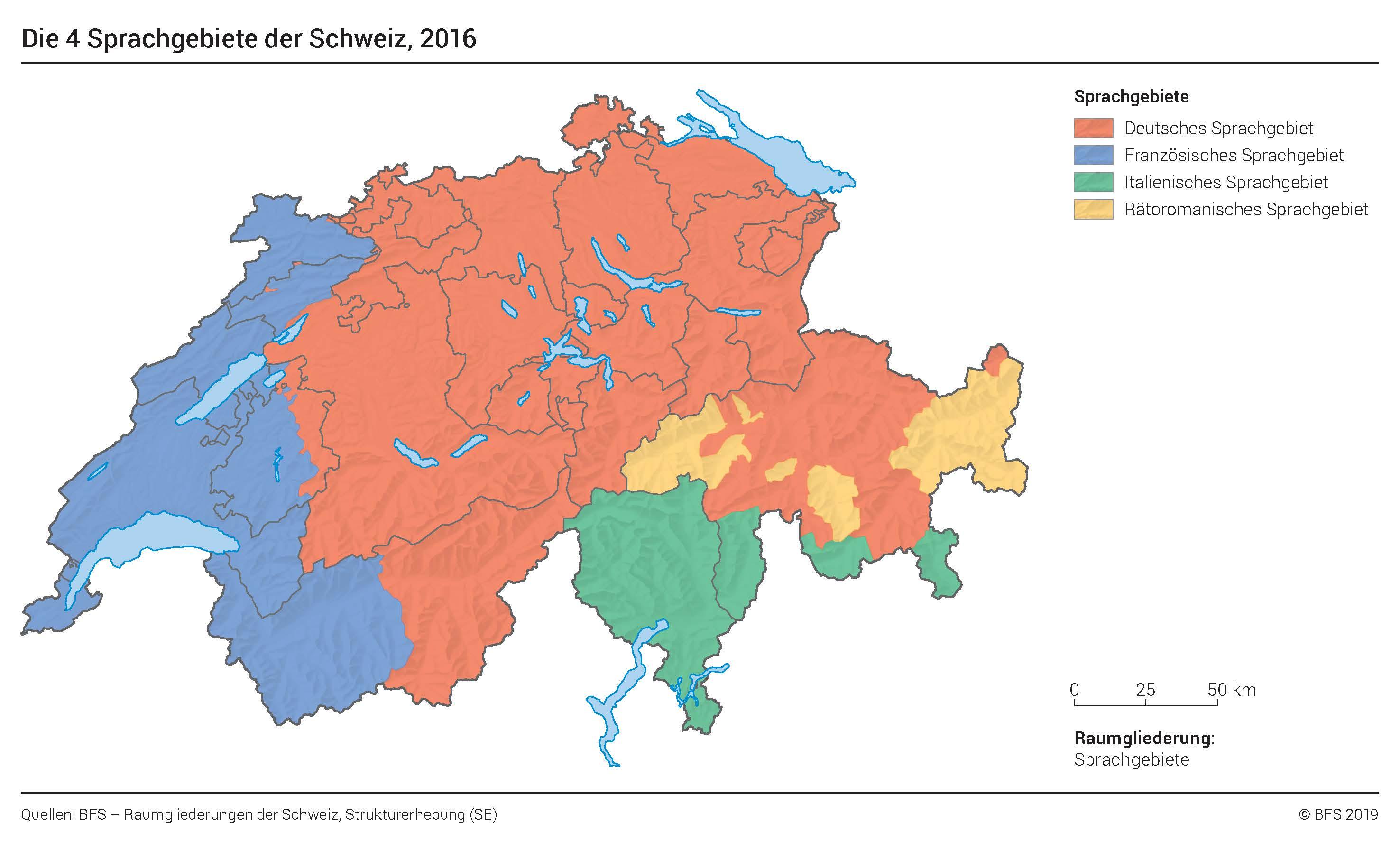 Mehrsprachigkeit In Der Schweiz